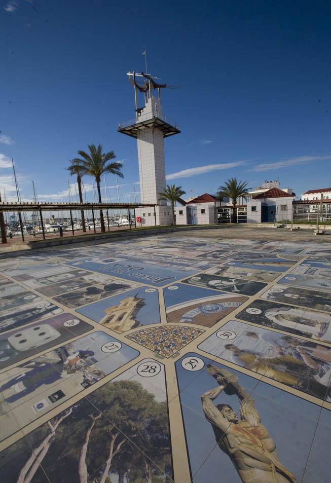Juego infantil cerámico Plaza del Mar