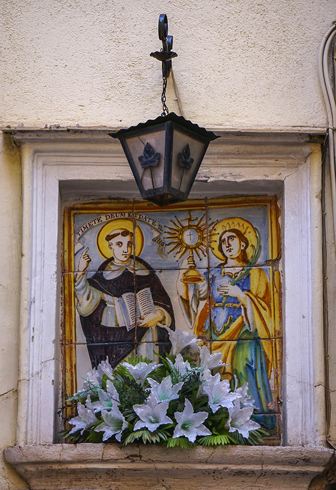 Plafó devocional de Sant Vicent i Santa Bárbara